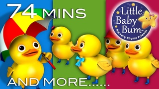 Five Little Ducks   Learn with Little Baby Bum   Nursery Rhymes for Babies   ABCs and 123s