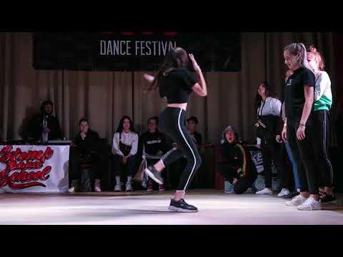 Hit The Floor vol 4 dancehall beginners final Aser win vs Steasy