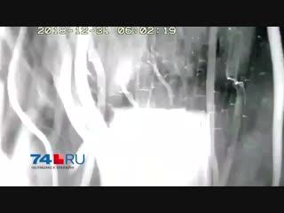 Момент взрыва в магнитогорске попал на видео