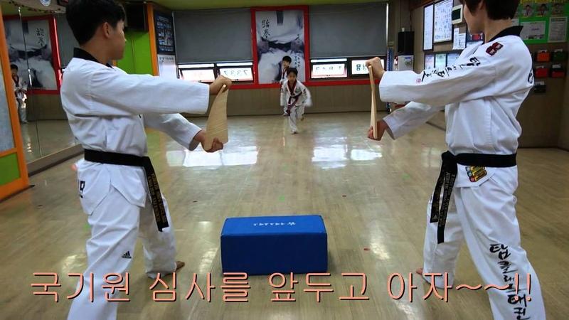 신곡동 탑클래스 영어태권도 신곡동 유일 k타이거즈 도장 제34회 정기승급심 4
