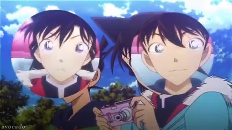Detective Conan | vine | Kudou Shinichi x Ran Mouri