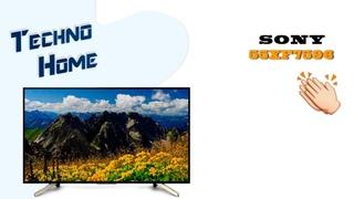 Шикарный Телевизор! Обзор Сони 55XF7596,лучший бюджетный 4к с Андроид ТВ.