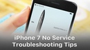 Shorted Baseband CPU - Tips For iPhone 7 Qualcomm No Service Common Issue Troubleshooting