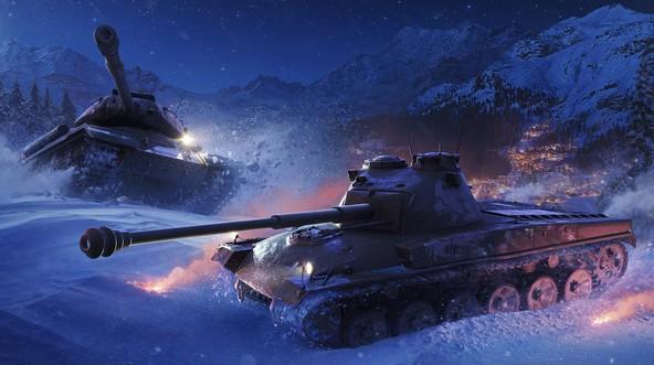 Новогодние Танки World Of Tanks Обои