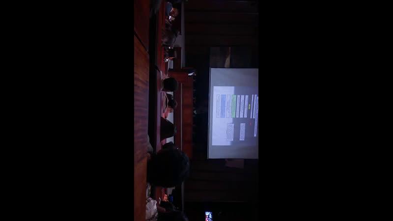 Taller d trabajo y Seminario d Técnica Legislativa organizado x la Asambleísta Soledad Buendia una transmisión del Colectivo A