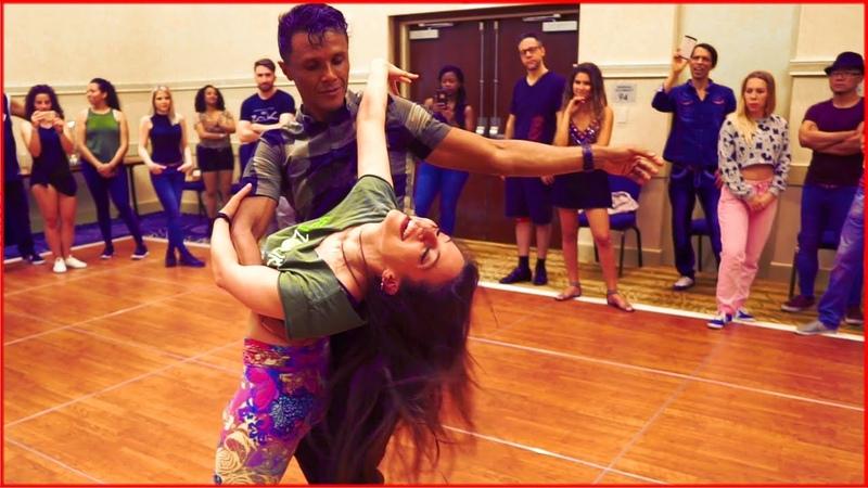 Lambada Dance   Leo Bruno Jessica Lamdon at the DC Zouk Festival 2019
