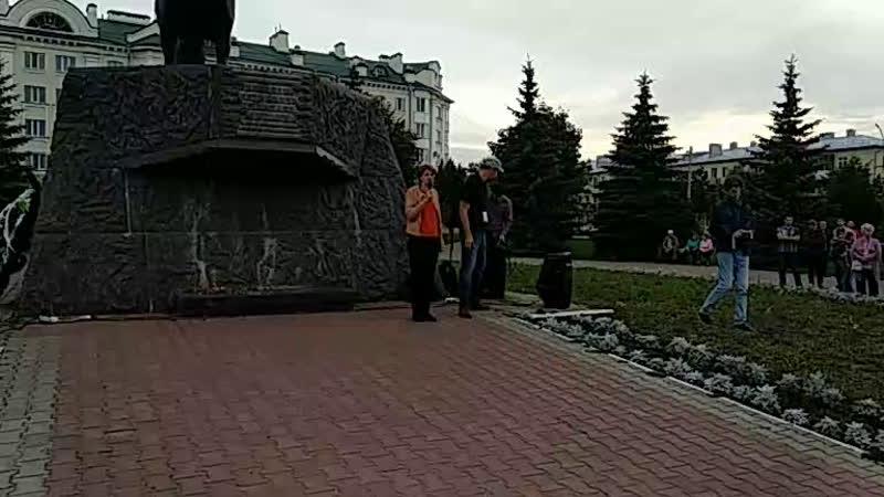 Митинг за сквер Ермолова