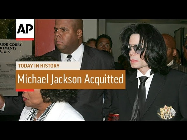 Michael Jackson Acquitted 2005 Today In History 13 June 17