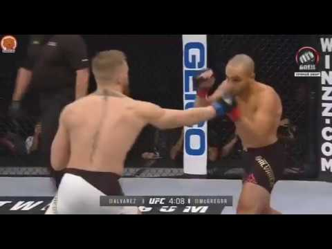 Конор Макгрегор против Эдди Альвареса (полный бой) | Conor McGregor VS Eddie Alvarez (Full Fight)