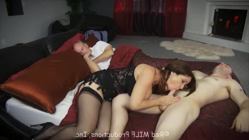 Red Milf: Rachel Steele boy sleeping milf fucked (porno, sex, cumshot, couples, facial, mature, boobs, full,