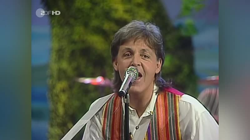 Paul McCartney - Hope of Deliverance (ZDF-Kultnacht)
