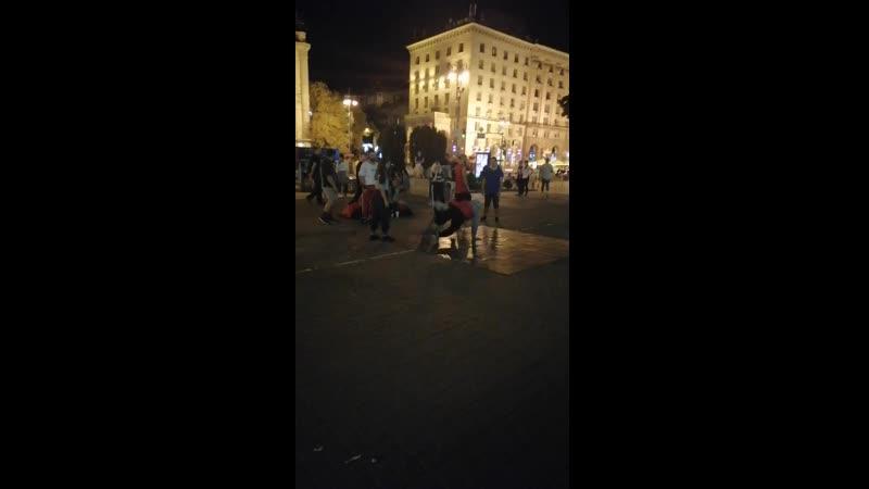 Киев. Вечерний Хрещатик