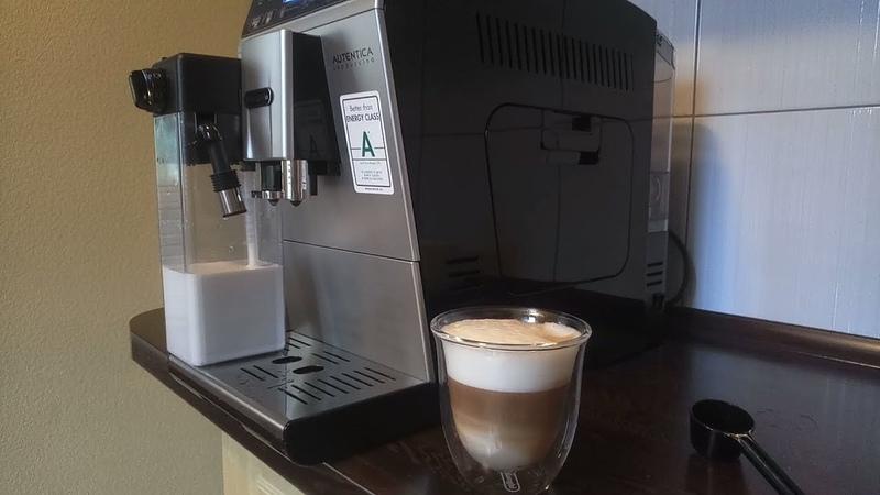 Приготовление кофе в кофемашине DeLonghi ETAM 29.660 SB AUTENTICA
