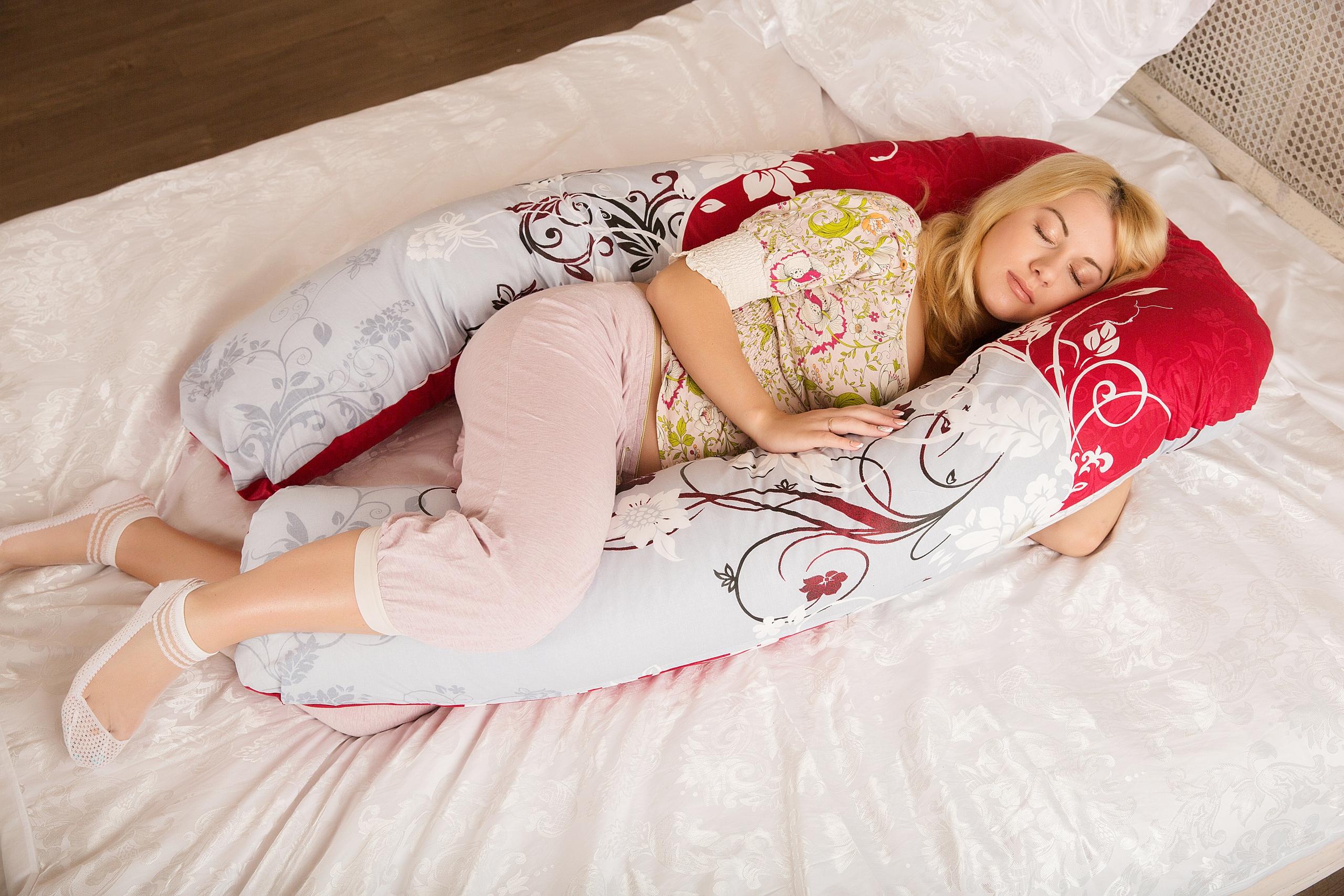Удобная поза для сна особенно важна для беременных!