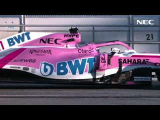 NEC is Premium ICT Partner of Racing Point Force India F1™ Team (30 sec) [NEC Of