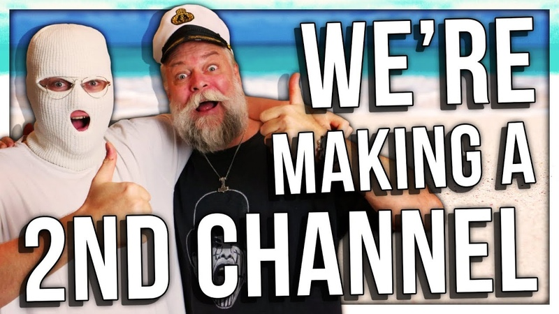 ME AND PAPA MAKING ANOTHER CHANNEL! (ANOMALY PAPANOMALY)