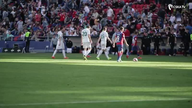Влог ВЭБ Арены ПФК ЦСКА Ахмат 1 0