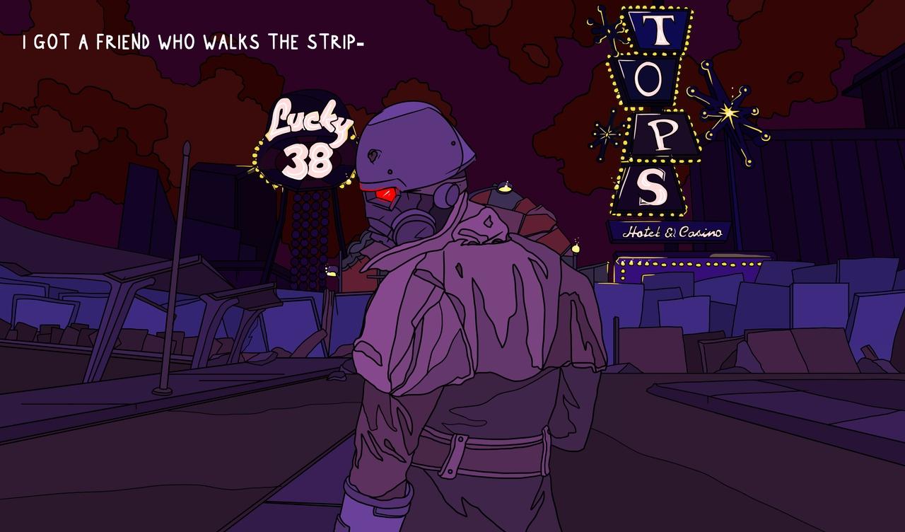 Fallout New Vegas Art