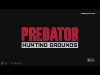 Predator: hunting grounds — геймплейный трейлер