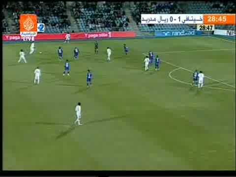 Хетафе 3-1 Реал Мадрид. Чемпионат Испании 2008-2009. 13 тур