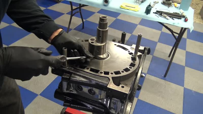 4 rotor twin turbo 1400hp engine build mazda Rx7 Defined Autoworks 720p