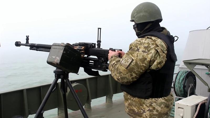 Морські прикордонники відпрацювали відбиття ворожого нападу