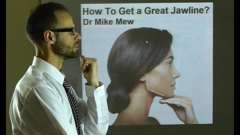 How To Get A Great, Prominent Jawline by Improving Body, Neck Tongue Posture by Dr Mike Mew