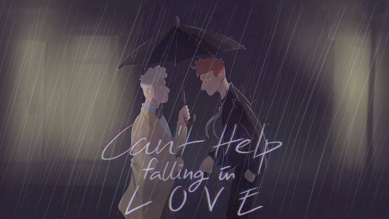 Good Omens animatic | Can't Help Falling In Love [dark ver.]