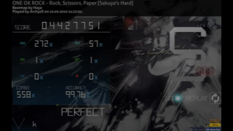 ONE OK ROCK-Rock,scissors,paper 4,46★By ArchysR(290bpm dt??)