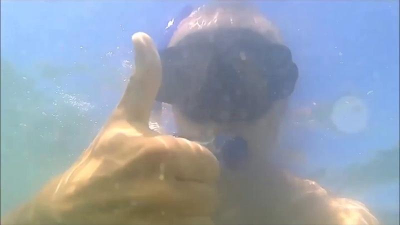 отдых на море и обкатка аквабокса для камеры