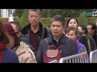 В Царском селе просят разобраться с китайскими туристами