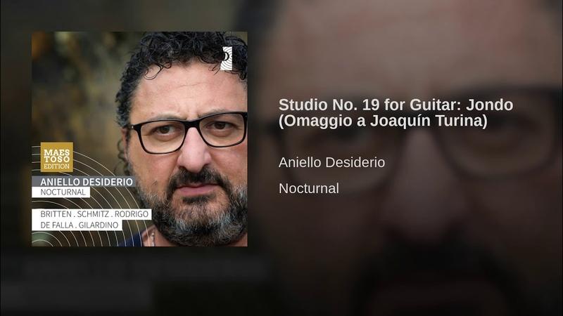 Studio No 19 for Guitar Jondo Omaggio a Joaquín Turina