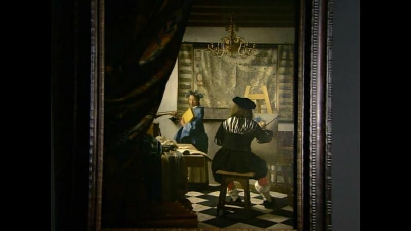 Искусство живописи Ян Вермер Johannes Vermeer The Art of Painting