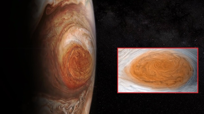 New Images Show Rapid Changes in Jupiter's Great Red Spot