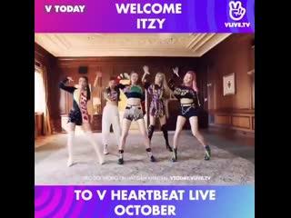 190929 специальная трансляция «v heartbeat live» в приложении @ v app.