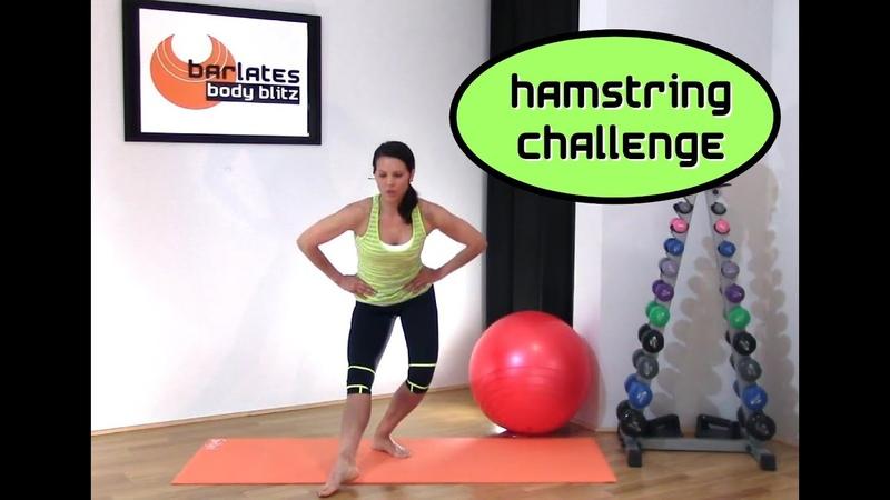 FREE LEGS Workout Hamstring Challenge BARLATES BODY BLITZ