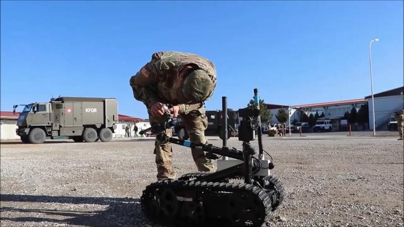 EOD Units Robots of NATO KFOR in Showcase