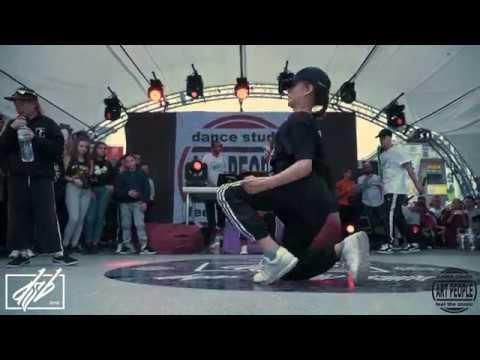 Shada vs Dasha Turtle Hip hop kids Final DNEPR STREET BATTLE 2018