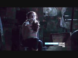 Teen Wolf - Crystal Reed Bound and Gagged