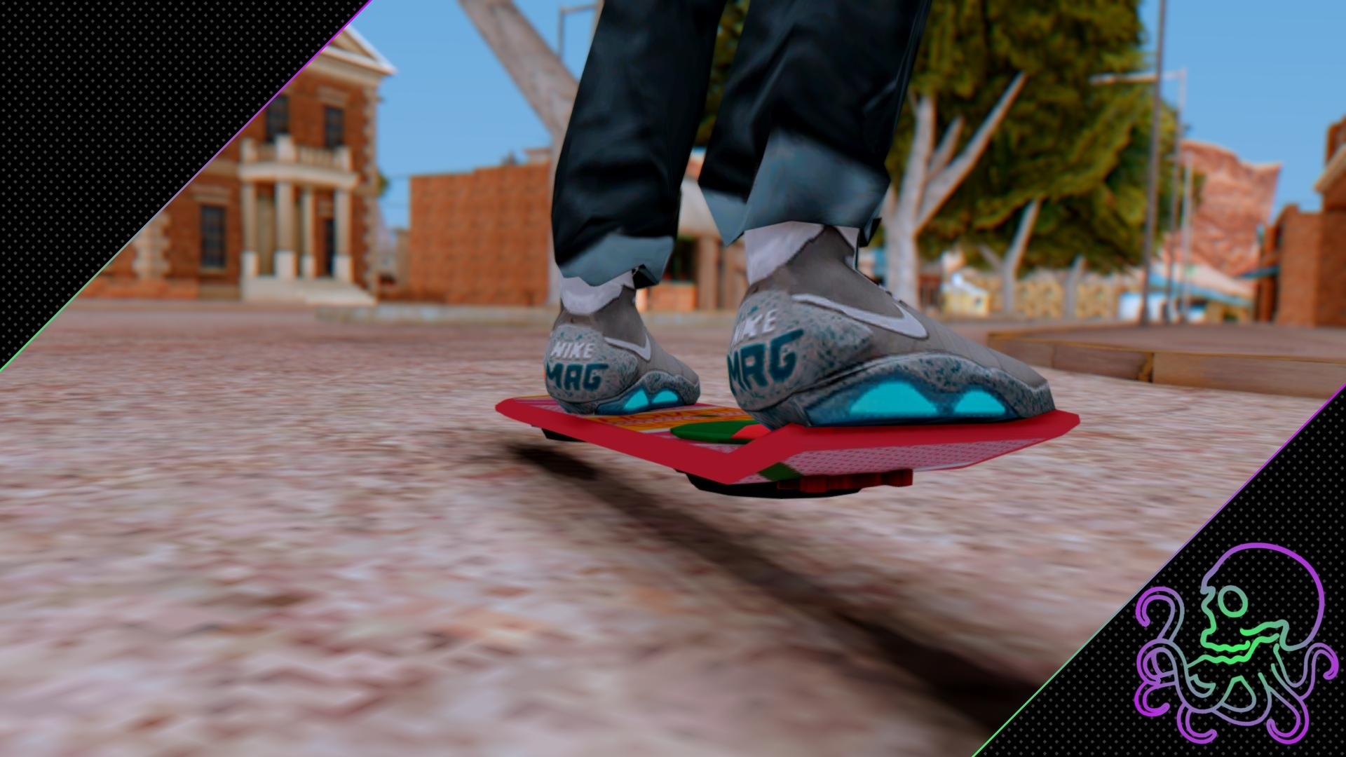 [GTA SA] Hoverboard BTTF [LQ]
