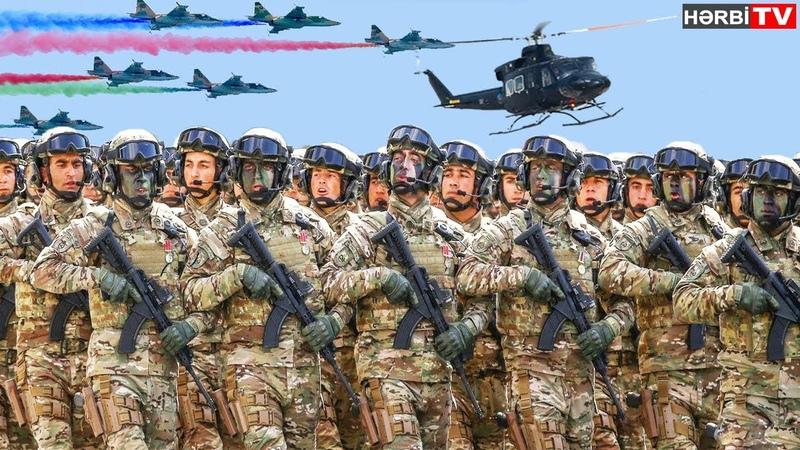 Azərbaycan Ordusunun Gücü / Azerbaijan Army Power l REVENGE