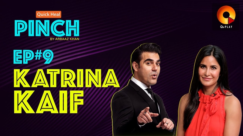 Katrina Kaif Quick Heal Pinch by Arbaaz Khan QuPlayTV