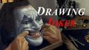 Painting of Joker Movie Warner Bros