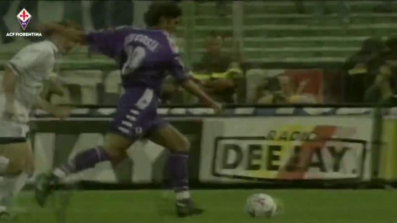 Руй Кошта - гол за Фиорентину, 1998 год