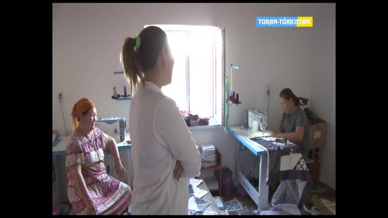 Түркістан ақпарат Әлеуметтік көмек алып кәсіп ашқан отбасылар 28 08 2019