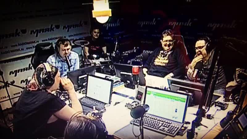 Майк Кремлин о рок-сказке на радио «Маяк»