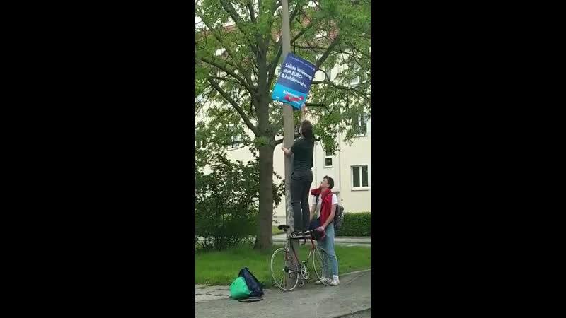 Wer kennt diese netten Mitbürger aus Leipzig