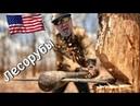 Лесорубы в США Экскаваторщик в США Прицеп самосвал