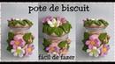 Pote de Biscuit fácil/ diy / reciclagem