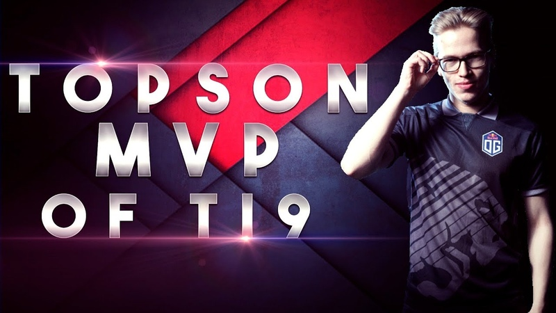 OG.TOPSON MVP OF TI9 - FIRST 2x TI CHAMPION - Best Plays, Best Moments Dota 2
